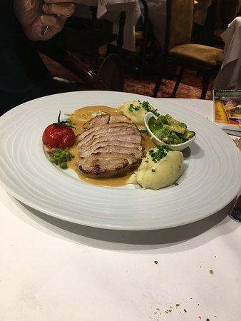 Restaurant l'Escargot Qui Tette : Filet de veau