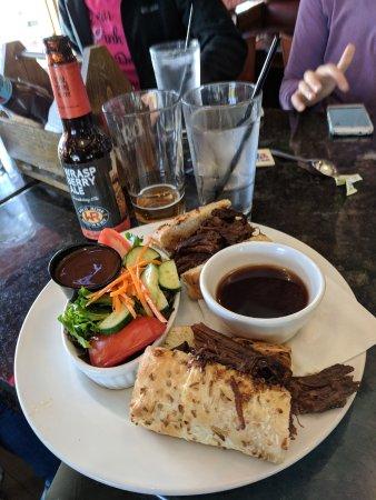 De Winton, Canada: Beef dip