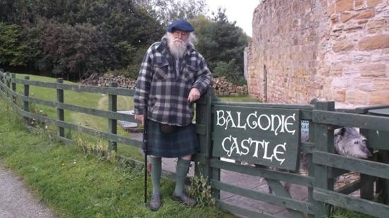 Markinch, UK: The Laird of Balgonie Castle