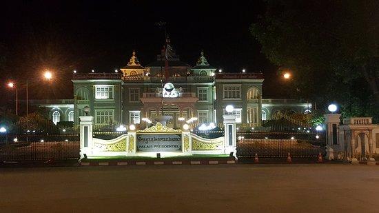 Vientiane, Laos: Facade Of The Building