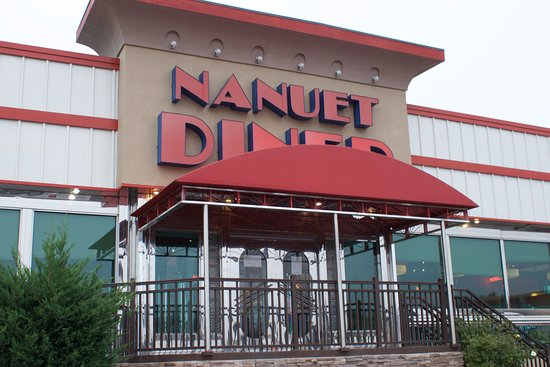 Nanuet, NY: The front of the diner.