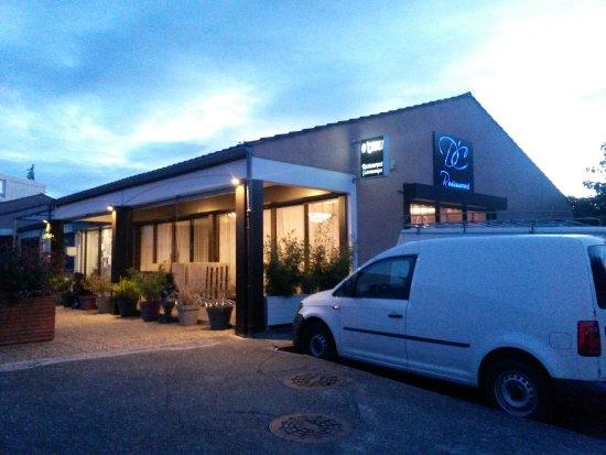 Haute-Garonne, France: vue du restaurant
