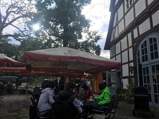 Hofgeismar, Germany: Biergarten