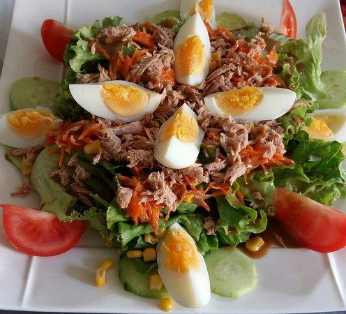 La Cotte de Mailles: Salade végétarienne