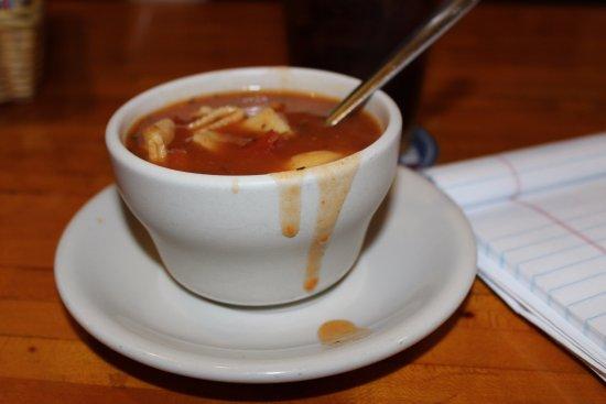 Monroe, WI: Tomato Basil soup
