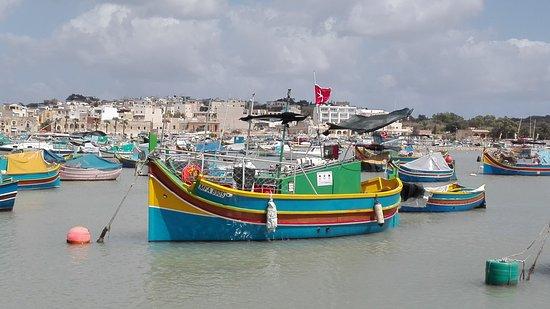 Marsaxlokk, Malta: bahía