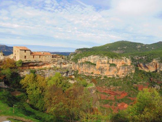 Siurana, Spanien: Paradise for rock climbers