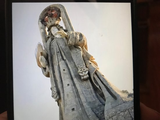 Virgen de la roca Photo