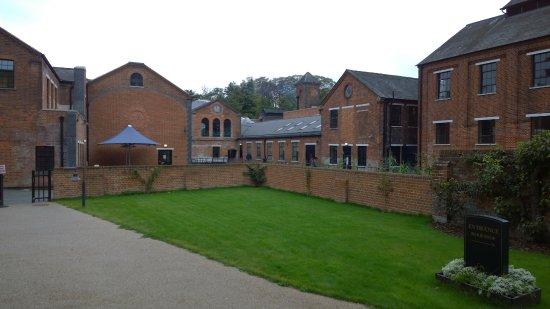 Whitchurch, UK: Vista dall'ingresso