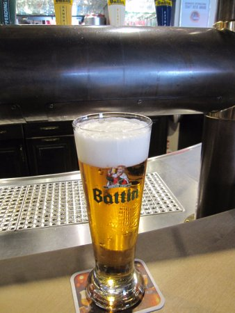 Bascharage, Luxembourg: Battin Gambrinus Beer