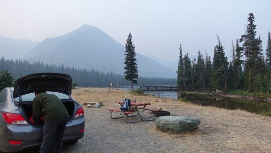 Two Medicine Campground Foto