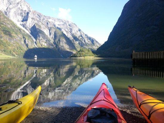 """Voss Municipality, النرويج: le départ du """"day tour"""""""