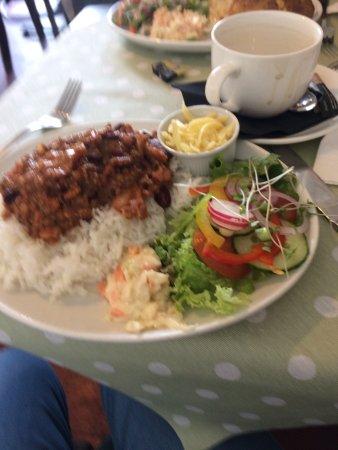 Coedpoeth, UK: chill rice