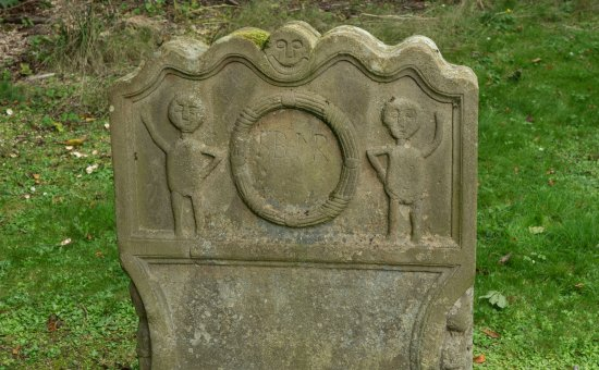 Bathgate, UK: Gravestone in the Pictish style?