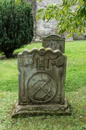 Bathgate, UK: Strange gravestone markings