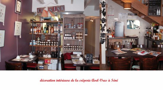 Sene, França: intérieur vers la cuisine