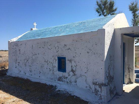 Chrissi Island : Little Church of the Island