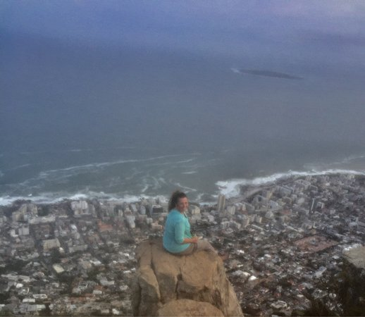 Cape Town Merkez, Güney Afrika: Table Mountain and Lions Head