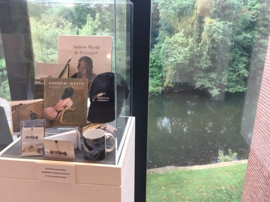 Chadds Ford, Pensilvania: Wyeth items and the Brandywine River