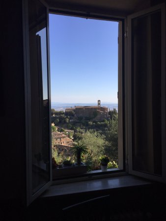 Il Giglio Hotel and Restaurant : Room with a view