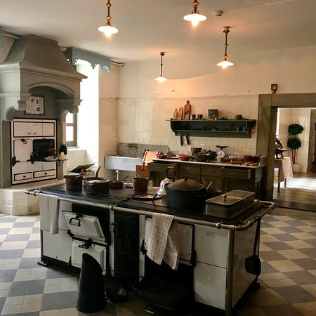Kitchen in the Schloss Hunegg Hilterfingen