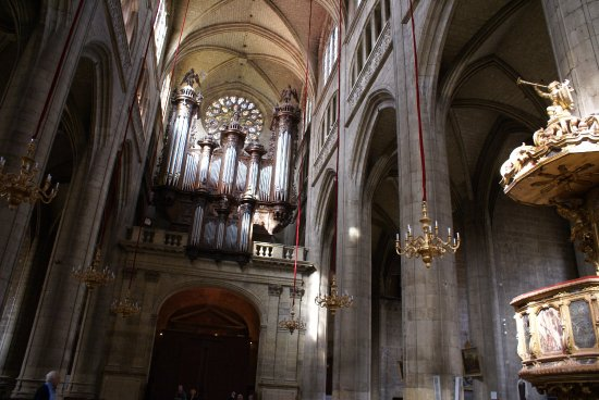 Cathedrale Sainte Marie : Les orgues