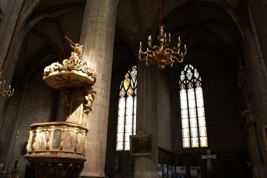 Cathedrale Sainte Marie : La chaire