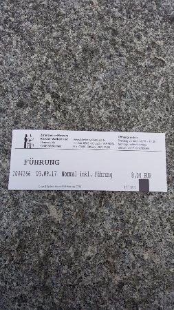 Walkenried, Niemcy: Eintrittskarte