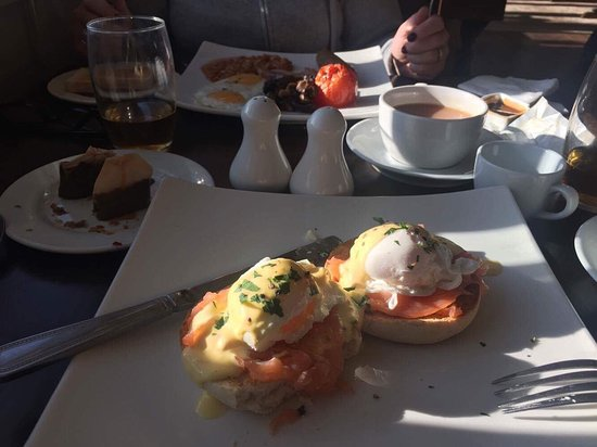 The Fox Inn: Delicious breakfast inc in the price too!