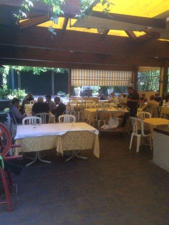 Pianoro, Italy: Veranda sul cortile interno