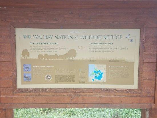 Waubay, SD: Trail Kiosk.