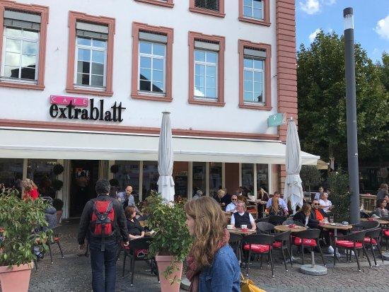 Cafe Extrablatt Mainz Schillerplatz
