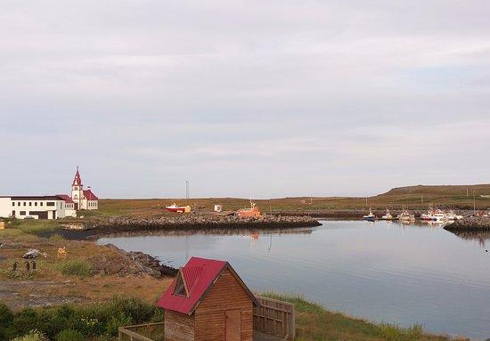 Raufarhofn, Island: Blick aus dem Hotel