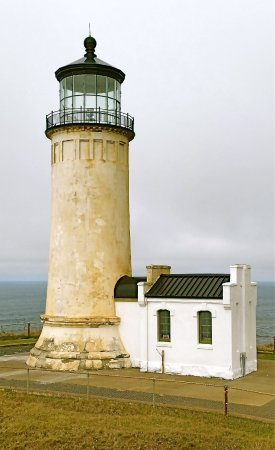 Ilwaco, WA: Cape Disaspoinment Lighthouse, Washington State