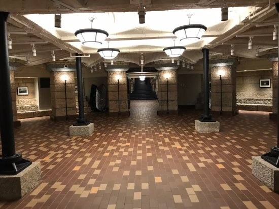 Minnesota State Capitol: The Renovated Basement