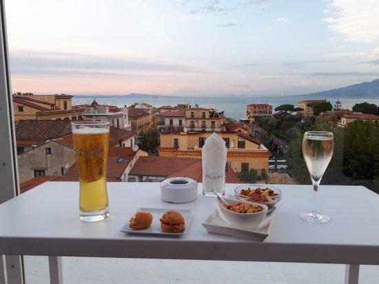 Hotel Plaza : Skybar drinks