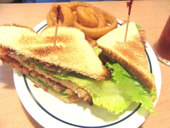 BLT with Onion Rings, iHOP, Milpitas, CA