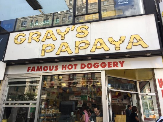 Photo of Gray's Papaya in New York, NY, US
