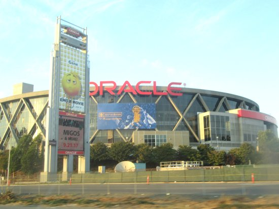 Oracle Arena, Oakland, Ca