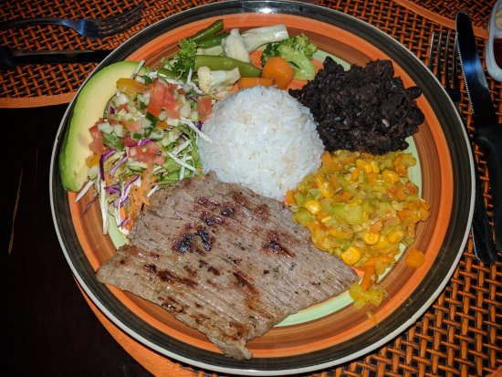 Curubande, Costa Rica: Restaurante Camino al Cerro