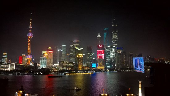 The Bund Wai Tan View Of Across Harbour From My Hotel Near