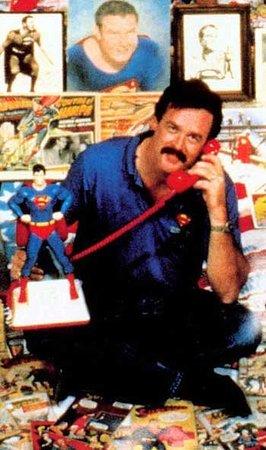 """jim hambrick ownder and - Super colección de Superman en el programa """"Collector's Call"""""""