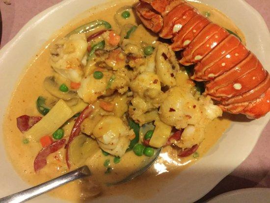 Palm Beach Gardens, FL: Lobster Curry