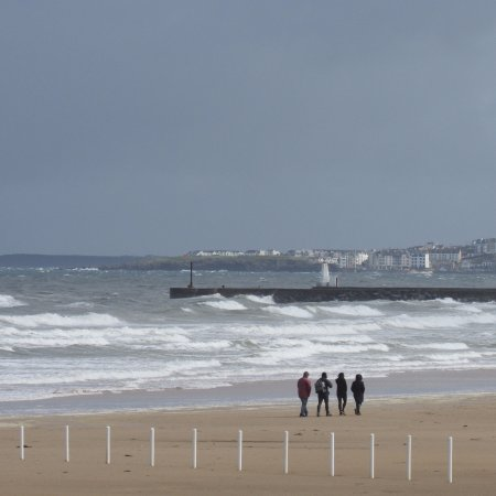 Castlerock, UK: Even on a wet and windy day.....