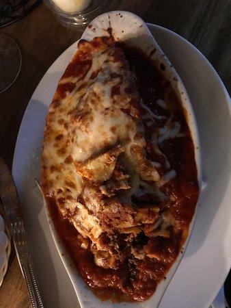 Naugatuck, CT: lasagna, flavorless