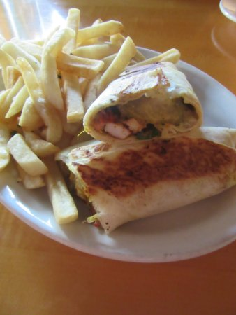 Muncie, IN: Chicken Shawerma with Poutine's (they have a variety of sauces).