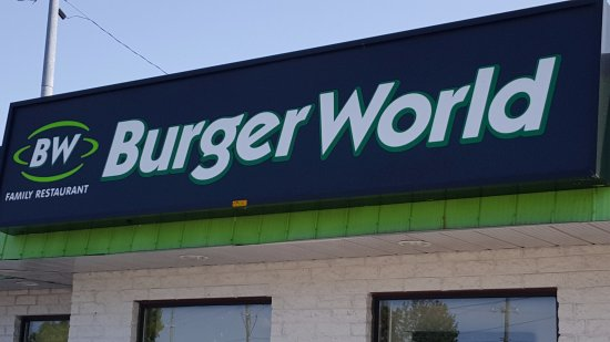 Burger World: Great place to eat
