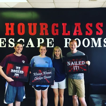 Hourglass Escape Rooms