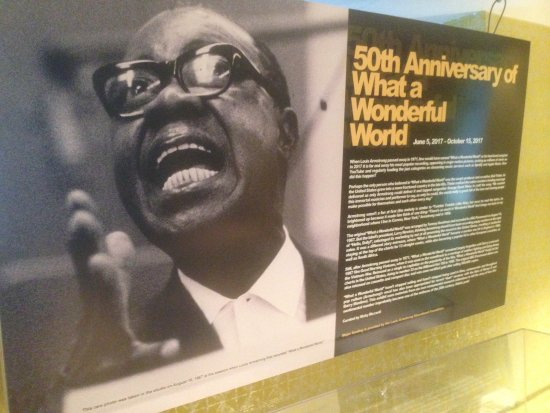 Louis Armstrong House Museum: 50th Anniversary of What a Wonderful World