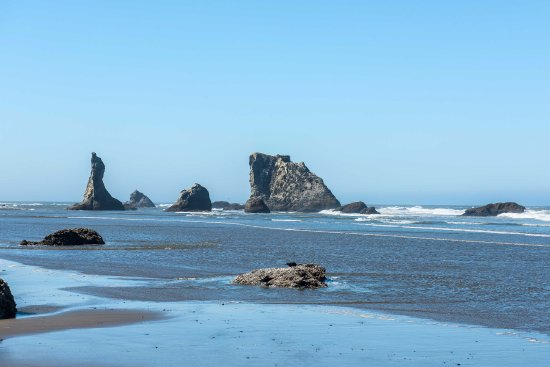 Bandon, OR: From beach, south of parking area